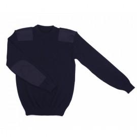 Pull Commando OTAN bleu marine (100% laine)