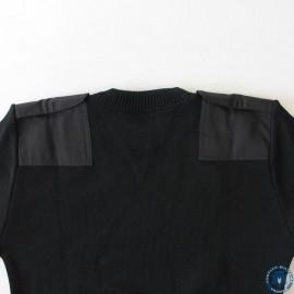 Pull Commando OTAN noir (100% laine)