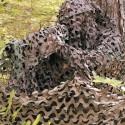 Filet de camouflage Camosystems à la découpe (marron/kaki)
