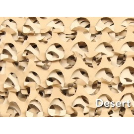 Filet de camouflage Camosystems à la découpe (désert)