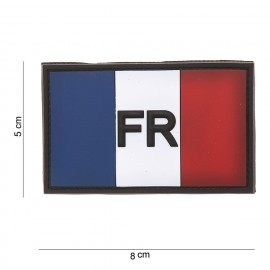 Patch 3D drapeau France