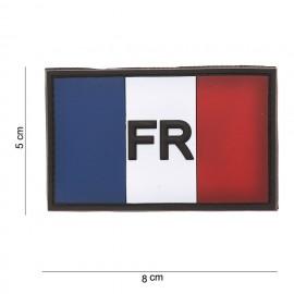 Patch 3D drapeau France