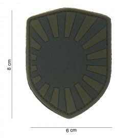 Patch 3D bouclier Japanese war