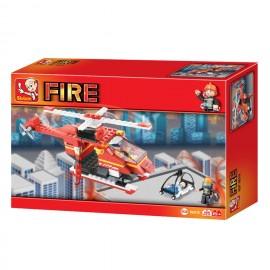 Hélicoptère Pompier M38-B0218 - SLUBAN