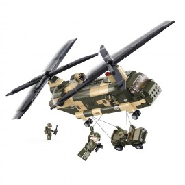 Hélicoptère Chinook M38-B0508- SLUBAN