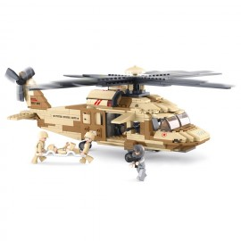 Hélicoptère Black Hawk M38-B0509 - SLUBAN