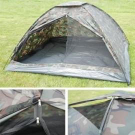 Tente 4 places Monodrome camouflée