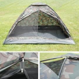 Tente 2 places Monodrome camouflée
