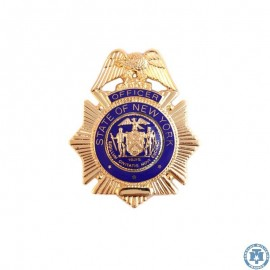 Plaque Officier de police New-York