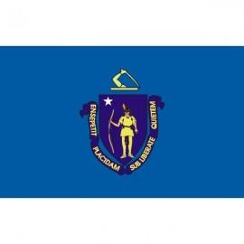 Drapeau USA Massachusetts
