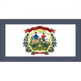 Drapeau USA Ouest Virginie