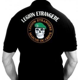 """Polo Légion Etrangère """"Marche ou Crève"""" (Paratrooper Inc)"""