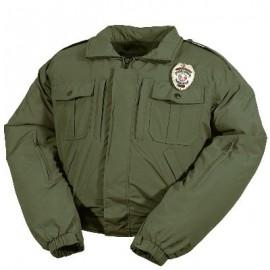 Blouson de moto avec protection Police américaine