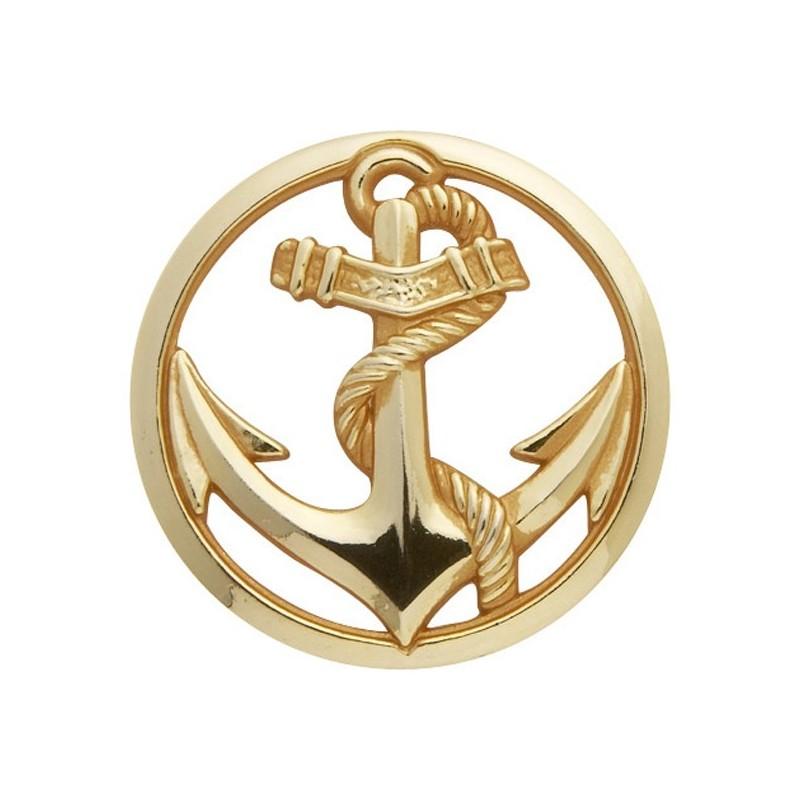 Militaria Badge Troupes de Marine