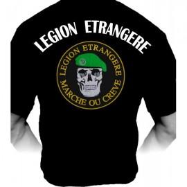"""T-shirt Légion Etrangère """"Marche ou Crève"""" (Paratrooper Inc)"""