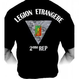 T-shirt 2ème REP Légion Etrangère (Paratrooper Inc)