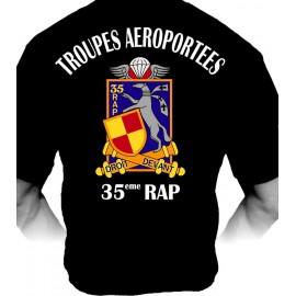 T-shirt 35ème RAP (Paratrooper Inc)