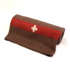 Couverture Armée suisse en laine