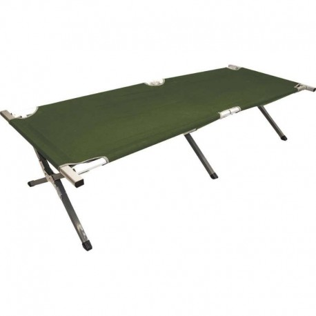 lit de camp en aluminium highlander. Black Bedroom Furniture Sets. Home Design Ideas
