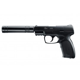 PISTOLET COMBAT ZONE COP SILENCER CO2