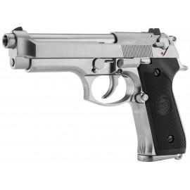 PISTOLET M92 F SILVER GBB