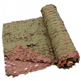 Filet de camouflage en rouleaux