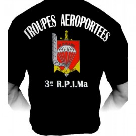 T-shirt 3ème RPIMa (Paratrooper Inc)