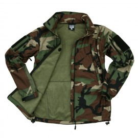 Veste Softshell Tactique 101 INC (woodland)