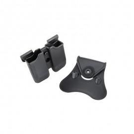 Porte chargeur double Cytac pour Glock