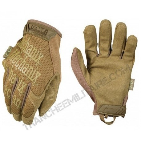 Gants de palpation Mechanix Original (tan)
