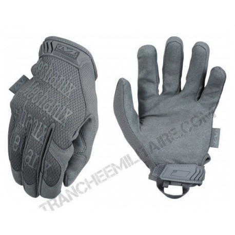 Gants de palpation Mechanix Original (wolf grey)