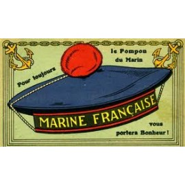 Pompon Marine Nationale (le véritable)