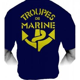 T-shirt Troupes de Marine (Paratrooper Inc)