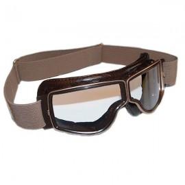 """Lunettes """"Aviator goggle"""" T2 (marron/incolore)"""