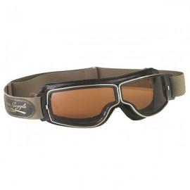 "Lunettes ""Aviator goggle"" T2 (marron/fumé)"