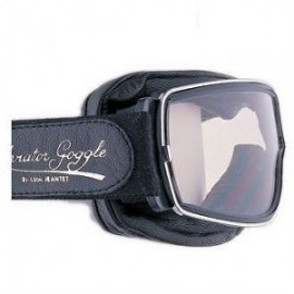 "Lunettes ""Aviator goggle"" T2 (noir/incolore)"