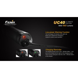 Lampe Fenix UC40 Ultimate Edition (max 960 Lumens)