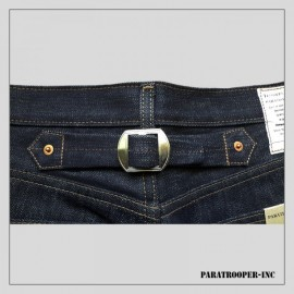 Pantalon/Jeans denim US NAVY WW2 avec martingale (Paratrooper Inc)